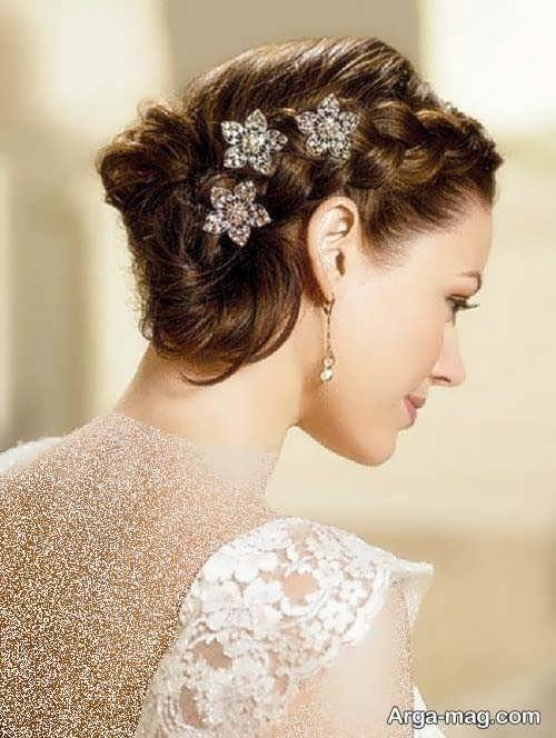 مدل موی بسته برای عروس