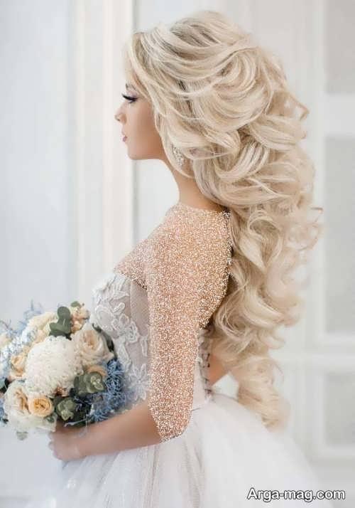 مدل موی عروس اروپایی شیک و زیبا