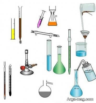 انواع وسایل آزمایشگاهی