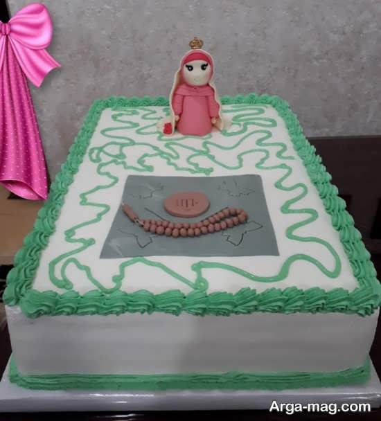 تزیین کیک مخصوص جشن تکلیف