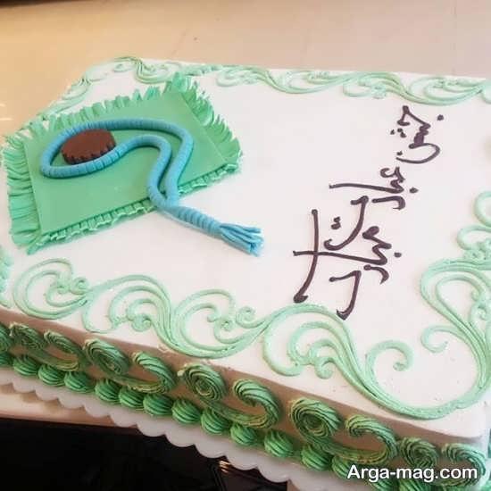 تزئین جالب کیک جشن تکلیف