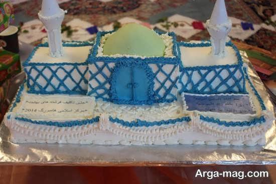 دیزاین زیبای کیک جشن تکلیف