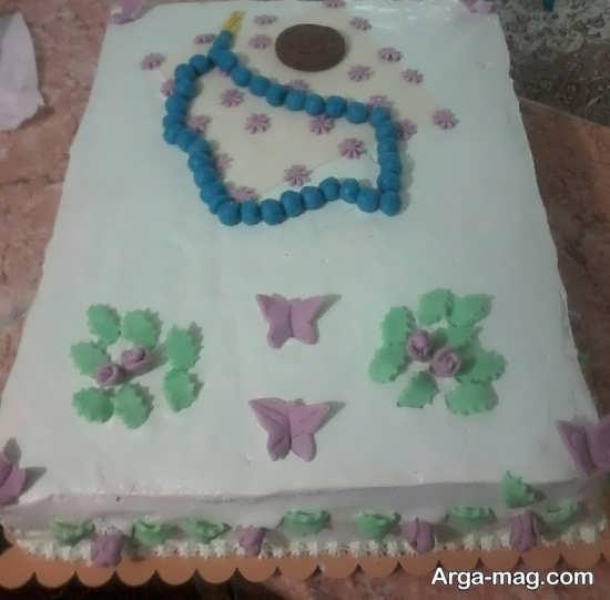 تزیین خاص کیک جشن تکلیف