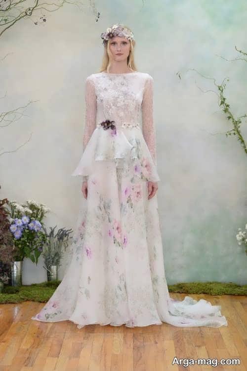 مدل لباس عروس شیک و طرح دار