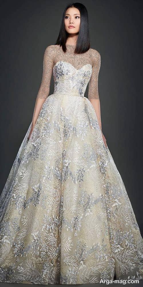لباس عروس زیبا و طرح دار