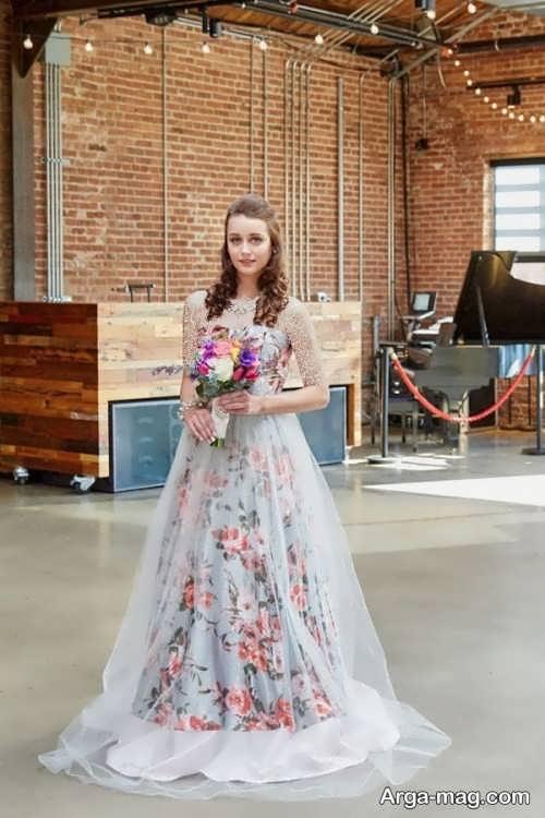 مدل لباس عروس زیبا و طرح دار