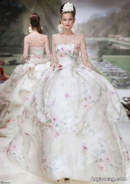 مدل لباس عروس زیبا و جدید