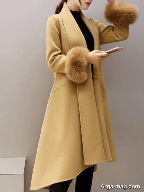 مدل پالتو بلند زنانه