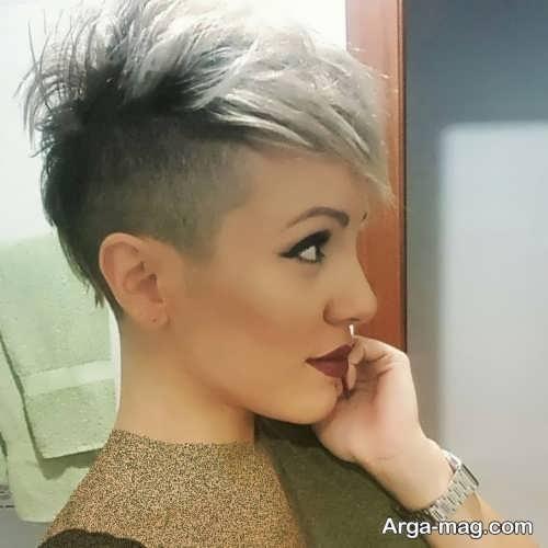 مدل موی دخترانه خیلی کوتاه
