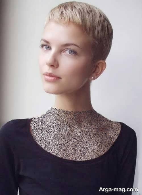 مدل مو دخترانه خیلی کوتاه