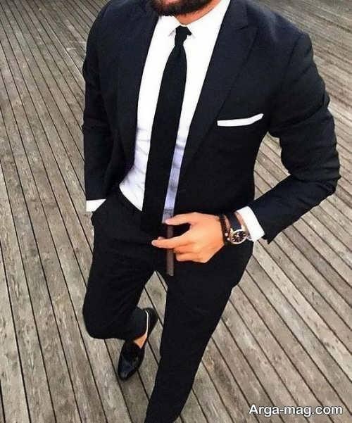 مدلی جذاب از لباس برادر داماد