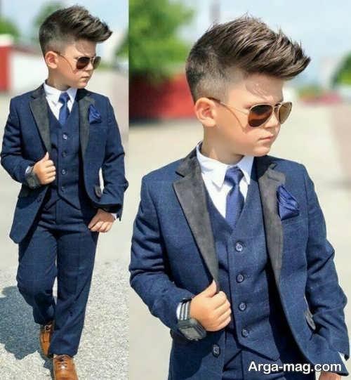 مدلی از لباس برادر داماد