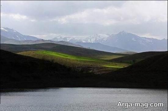 مکان های زیبای همدان