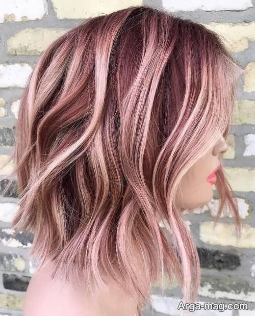 رنگ موی پاستیلی