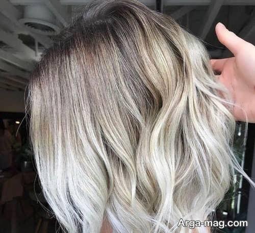 رنگ موی روشن 2019