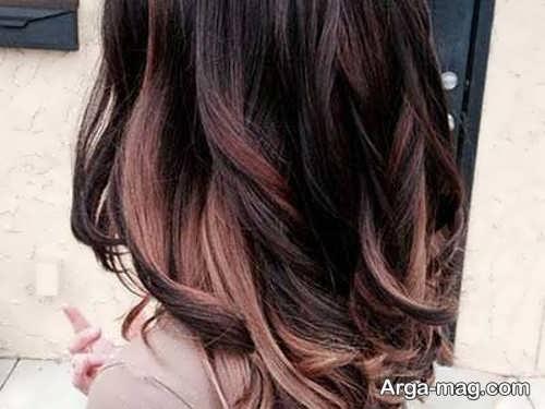 رنگ موی شیک 2019
