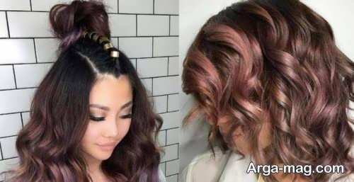 رنگ موی شیک و زیبا