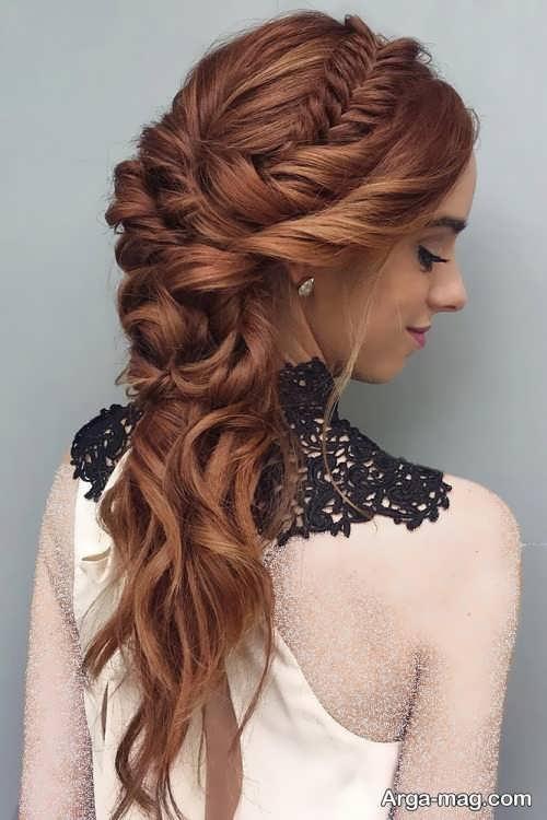 بافت موی زیبا و بی نظیر
