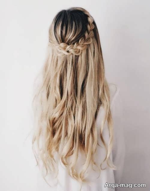 مدل بافت برای موهای بلند