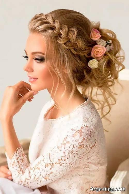 بافت مو برای عروسی