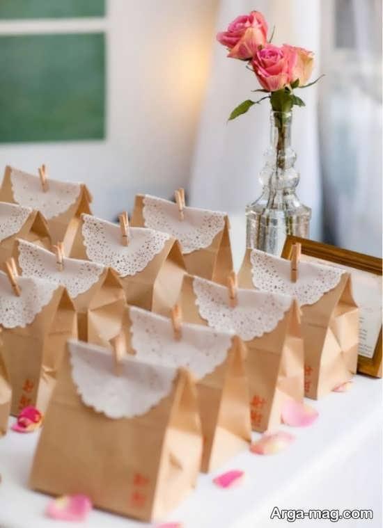گیفت عروسی دست ساز+تصویر