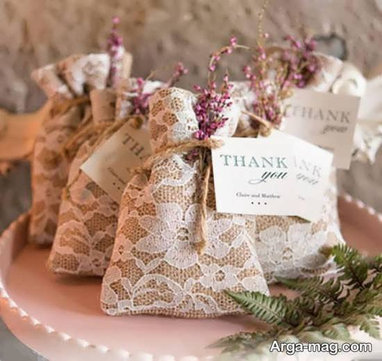 ایده ساخت گیفت عروسی