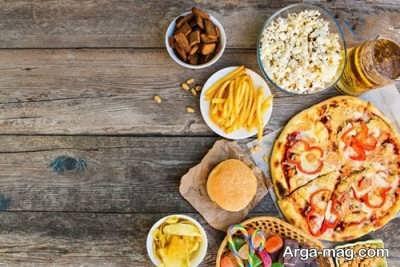 عادات غذایی نامناسب برای بدن