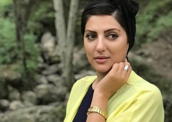 هلیا امامی با آرایش متفاوت