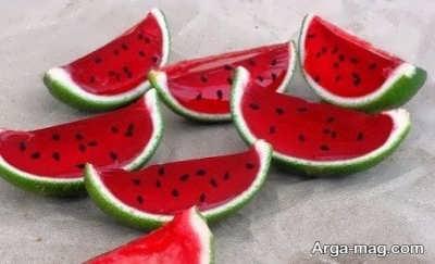 مواد لازم برای تهیه ژله هندوانه