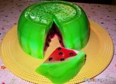 ژله هندوانه و روش تهیه آن