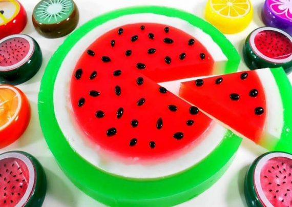 طرز تهیه ژله هندوانه
