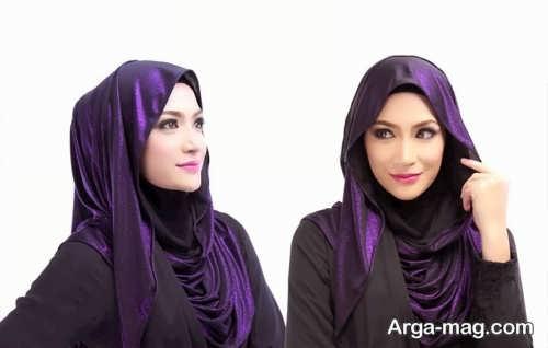 نحوه بستن شال عربی جدید