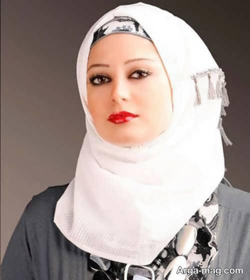 نحوه بستن شال عربی