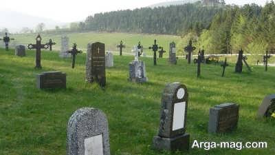 دیدن قبرستان در خواب بیانگر چیست ؟
