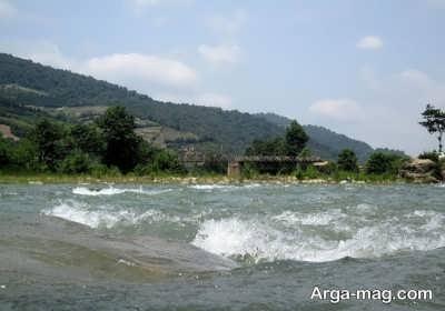 نام رودهای ایران