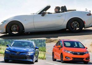 خودروهای ژاپنی پرطرفدار