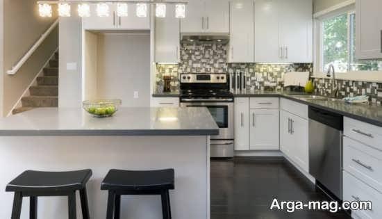 طراحی خانه های ال شکل