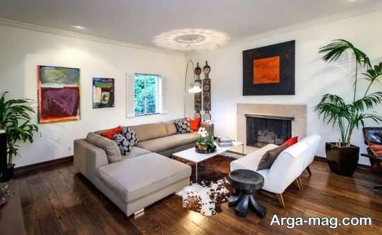 دیزاین مدرن خانه های ال شکل
