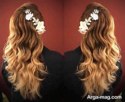 شینیون موی بلند و باز 2019