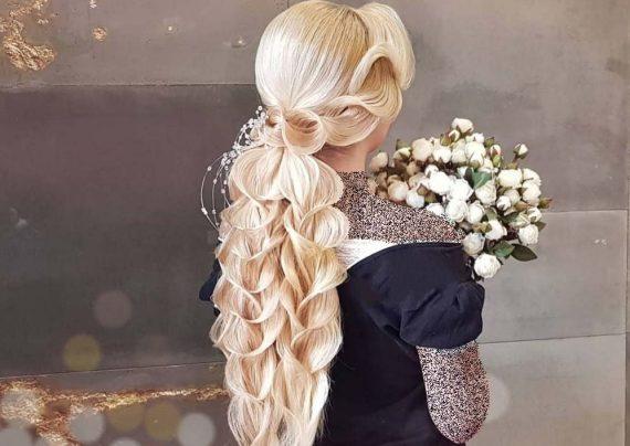شینیون موی بلند 2019
