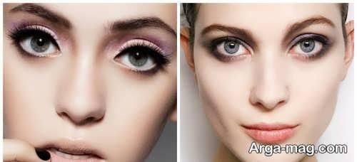 مدل سایه چشم ساده