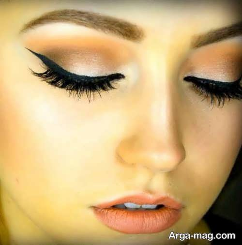 مدل آرایش چشم زیبا و حرفه ای