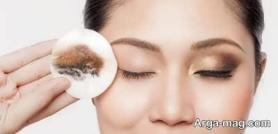 پاک کننده طبیعی آرایش صورت