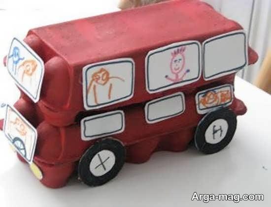 کاردستی های جذاب اتوبوس