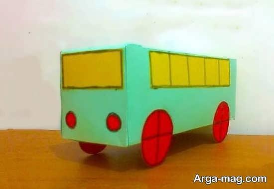 مدل های ساده برای ساخت اتوبوس