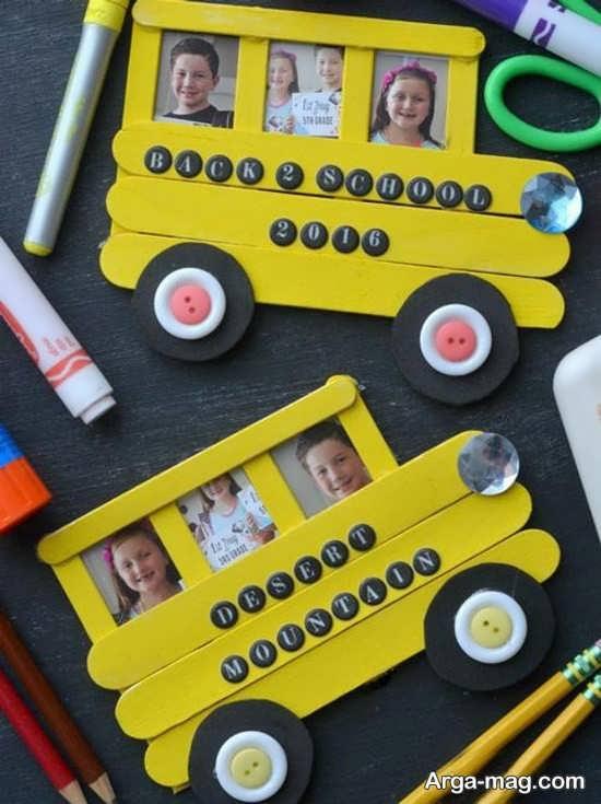 ساخت اتوبوس با ایده های جالب