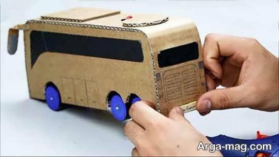 ساخت اتوبوس با روش های خلاقانه