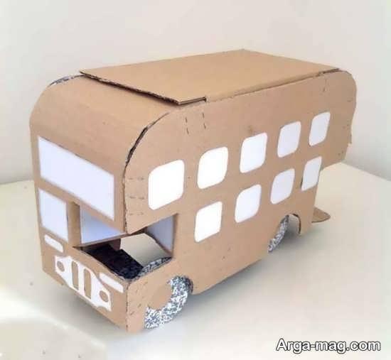 ساخت اتوبوس با ایده های نو