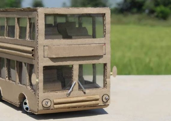 کاردستی اتوبوس