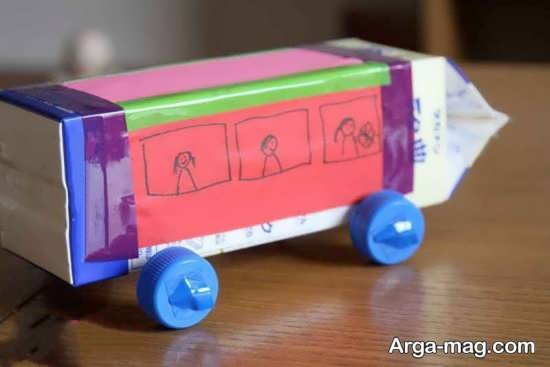 طرح های ساده برای ساخت اتوبوس